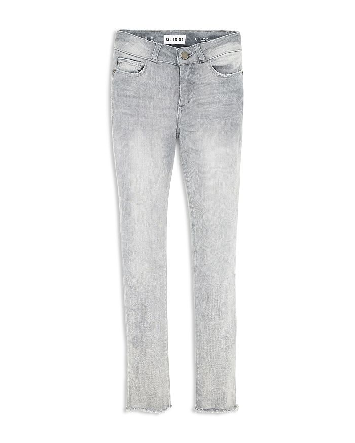 DL1961 - Girls' Chloe Frayed Hem Skinny Jeans - Big Kid