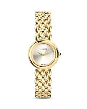 Versace Collection - V-Flare Gold Bracelet Watch, 28mm