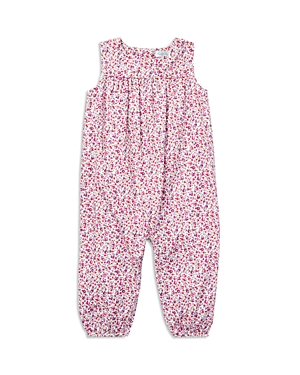 Ralph Lauren Girls Floral Cotton Romper  Baby