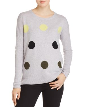 LISA TODD HOT SPOTS CASHMERE SWEATER