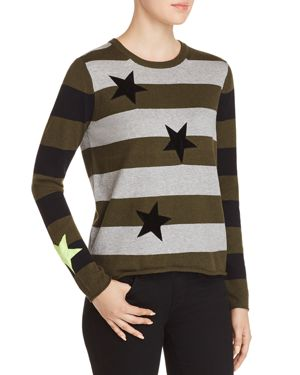LUCKY STAR STRIPED SWEATER
