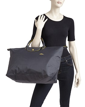 Longchamp - Le Pliage Club Large Nylon Canvas Travel Bag