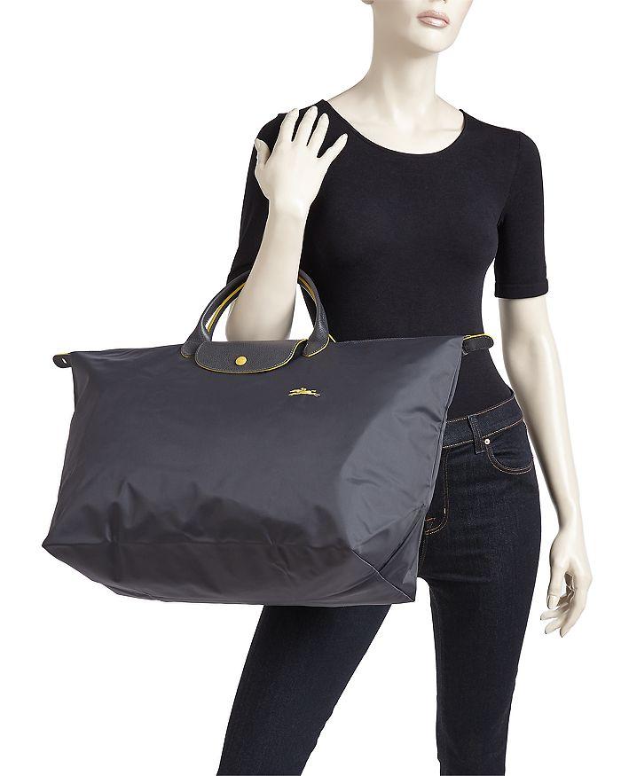 d3f67f08c131 Longchamp - Le Pliage Club Large Nylon Canvas Travel Bag