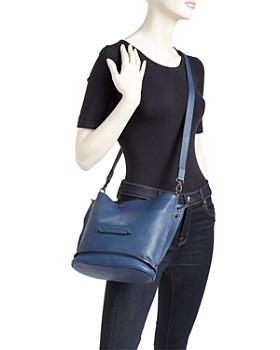 Longchamp - 3D Leather Crossbody
