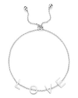 Argento Vivo - Love Adjustable Bracelet
