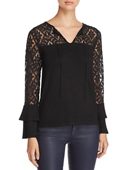 Design History - Lace-Sleeve Top