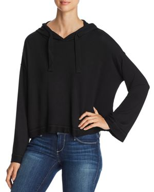 MARC NEW YORK PERFORMANCE BOXY CROPPED HOODIE