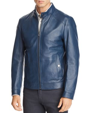 BOSS NOCAN LEATHER JACKET