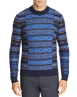 Boss Akarquard Fair-Isle Sweater