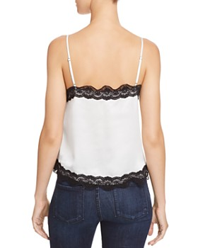 CAMI NYC - Knox Lace-Trimmed Silk Camisole Top