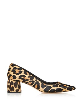 kate spade new york - Women's Madlyne Pointed Toe Calf Hair Mid-Heel Pumps - 100% Exclusive