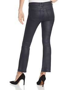 DL1961 - Lara Instasculpt Coated Crop Boot Jeans in Marin