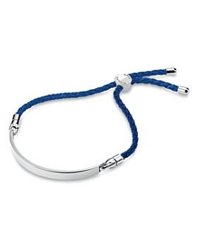 Michael Kors - Custom Kors Sterling Silver & Silk Interchangeable Bracelet Cord