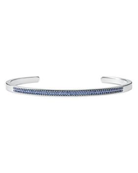Michael Kors - Custom Kors Pavé Sterling Silver Nesting Bracelet Insert