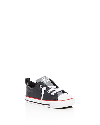 c181f07752 Converse Boys' Chuck Taylor All Star Street Leather Slip-On Sneakers ...