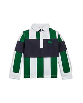 Burberry - Boys' Color-Block Stripe Shirt - Little Kid, Big Kid