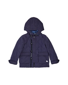 Burberry - Boys' Doug Quilted Hooded Coat - Little Kid, Big Kid