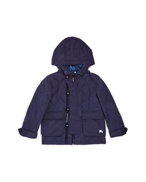 Burberry Boys Doug Quilted Hooded Coat Little Kid Big Kid