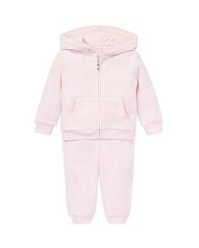 Ralph Lauren - Girls' Velour Hoodie & Pant Set - Baby