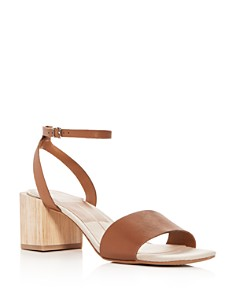 Dolce Vita - Women's Zarita Leather Block Heel Sandals