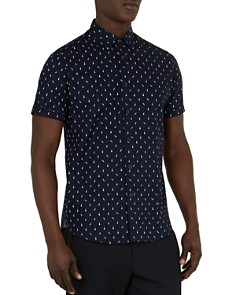 Ted Baker - Cpalace Music Print Regular Fit Sport Shirt