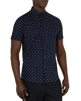 Ted Baker - Cpalace Music Print Regular Fit Sport Shirt