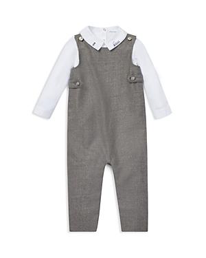 Ralph Lauren Boys Cotton Bodysuit  Wool Overalls Set  Baby