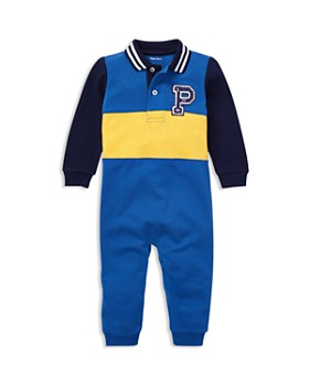 Ralph Lauren - Boys' Chenille-Patch Cotton Mesh Coverall - Baby