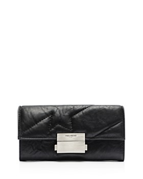 f1e9cb6fb80 Zadig & Voltaire - Compact Large Square Leather Wallet ...