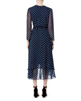 Betsey Johnson - Dot Print Wrap Dress