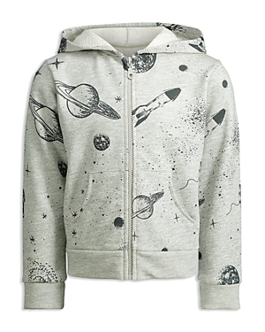 Mini Series Boys Outer Space ZipUp Hoodie Little Kid  100 Exclusive