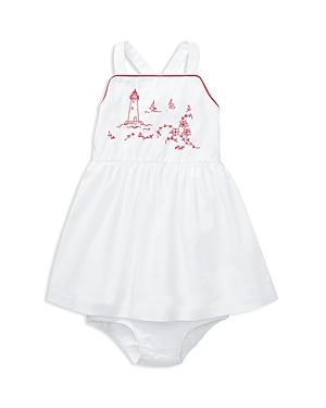 Ralph Lauren Girls Lighthouse Dress  Bloomers Set  Baby