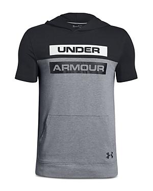 Under Armour Boys' Hooded Performance Shirt - Big Kid