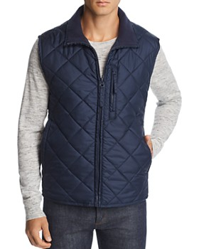 Marc New York - Chester Quilted Zip-Front Vest