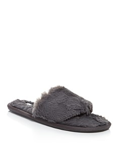 PJ Salvage - Faux Fur Slide Slippers