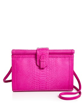Ximena Kavalekas - Megan Large Python Convertible Crossbody Clutch
