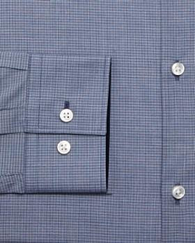 HUGO - Micro-Check Slim Fit Dress Shirt