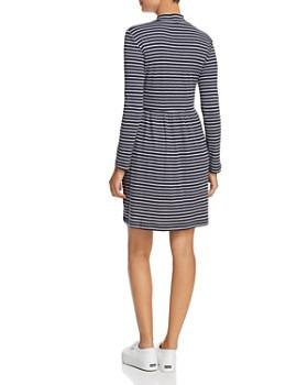 Vero Moda - Seda Stripe Ribbed Knit Dress