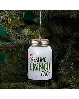 bloomingdales resting grinch face bottle ornament 100 exclusive