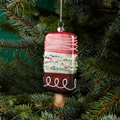 Bloomingdale's Glass Popsicle Ornament - 100% Exclusive_0