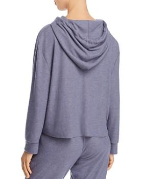 Eberjey - Mina High-Low Cropped Hoodie