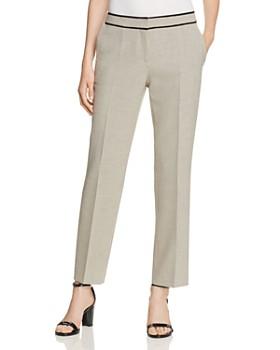 BOSS - Taliviena Check-Print Ankle Pants