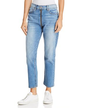 PISTOLA CHARLIE ZIP STRAIGHT-LEG JEANS IN SO SMOOTH