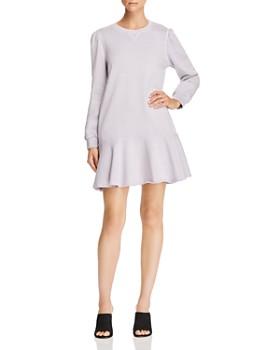 Rebecca Taylor - Fleece Sweatshirt Dress