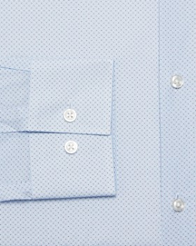 HUGO - Circle Micro-Dot Slim Fit Dress Shirt