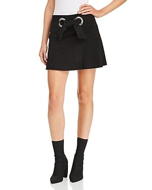 Parker Patty Suede Mini Skirt
