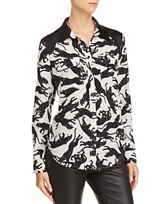 Anine Bing - Cisco Printed Silk Shirt