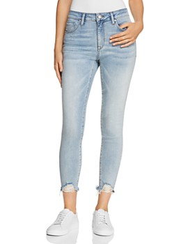 Mavi - Tess Cropped Skinny Jeans in Light '80s Vintage