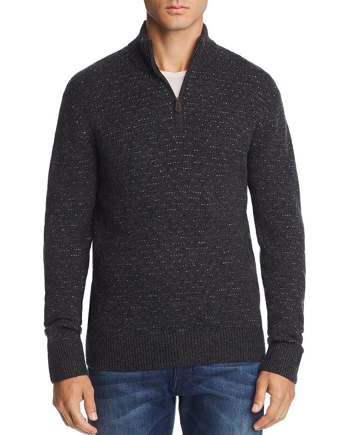 The Men's Store at Bloomingdale's - Quarter-Zip Knit Sweater - 100% Exclusive