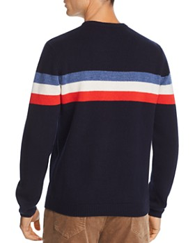 The Men's Store at Bloomingdale's - Striped Merino Wool Sweater - 100% Exclusive